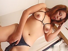 Exotic Japanese chick in Horny JAV uncensored Co-ed clip