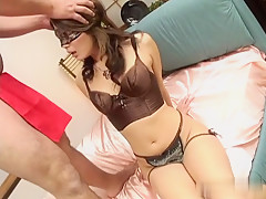 Hottest Japanese whore Jyuri Wakabayashi in Fabulous JAV uncensored Blowjob scene