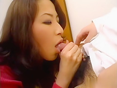 Hottest Japanese slut in Fabulous JAV uncensored Stockings scene