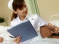 Exotic Japanese chick Mami Orihara in Best Nurse, Blowjob JAV clip