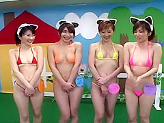 Best Japanese girl Hitomi Sudo, Akiko Osawa, Hiroko Okuno in Crazy Group Sex, Blowjob JAV clip