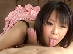 Exotic Japanese chick Mikan Kururugi in Best Couple, Handjob JAV movie