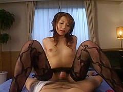 Horny Japanese model Yuuna Takizawa in Crazy POV, Lingerie JAV clip