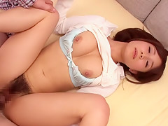 Girl Minami Kojima Hardcore Hairy Video...