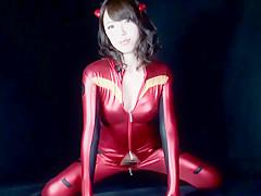 Ayane Okura in Beautiful Milky Cosplay Girl part 1.1