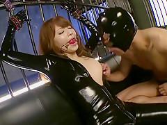 Girl Akiho Yoshizawa Latex Movie...