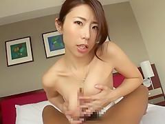 Horny Japanese slut Ayumi Shinoda in Hottest big tits, blowjob JAV video