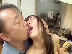Exotic Japanese girl Misora Hayama in Best group sex JAV scene