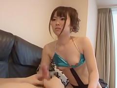 Best Japanese whore Akiko Morikawa in Horny Small Tits, Bikini JAV clip