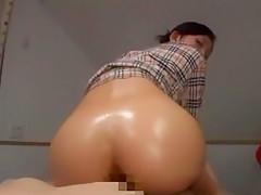 Incredible Japanese whore Rin Sakuragi in Horny POV, Dildos/Toys JAV clip