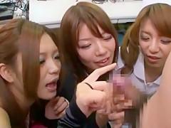 Fabulous Japanese whore Riri Kuribayashi, Ai Haneda, Saori Hara in Best Fetish, Dildos/Toys JAV video