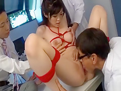 Hottest Japanese chick in Fabulous Cumshots, Group Sex JAV movie