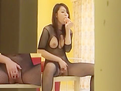 Hottest Japanese slut in Best Fetish, Stockings/Pansuto JAV movie