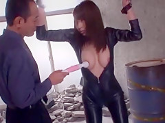 Hottest Japanese slut in Amazing BDSM, Fetish JAV scene