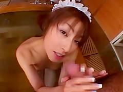 Incredible Japanese girl Karen Kisaragi in Exotic Fingering, Babysitters JAV clip