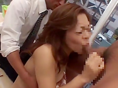 Horny Japanese chick in Fabulous Public, Ass JAV clip