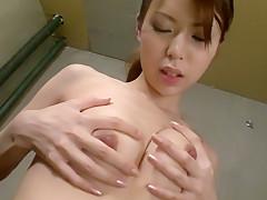 Fabulous Japanese girl Rino Asuka in Incredible JAV uncensored Masturbation video