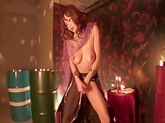 Exotic Japanese slut Hikaru Wakabayashi in Horny JAV uncensored Lingerie clip