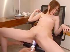 Crazy Japanese slut Rinka Kinjo in Best Masturbation/Onanii, Small Tits JAV clip