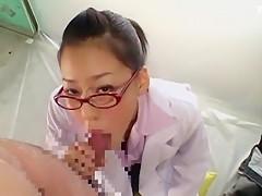 Exotic Japanese model in Crazy POV, Medical JAV clip