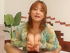 Amazing Japanese chick Chichi Asada in Best Big Tits, Handjobs JAV scene