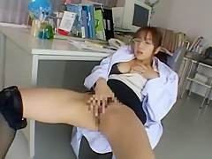 Crazy Japanese slut Yuna Mizumoto in Fabulous Solo Girl, Masturbation/Onanii JAV clip