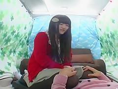 Exotic Japanese girl in Amazing Softcore JAV scene