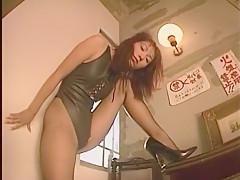 Exotic Japanese girl in Amazing Solo Girl, Voyeur JAV scene