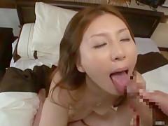 Horny Japanese model Yui Tatsumi in Fabulous JAV scene