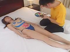 Hottest Japanese chick Mai Kanzaki in Incredible JAV scene