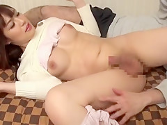 Amazing Japanese chick in Hottest Guy Fucks JAV video