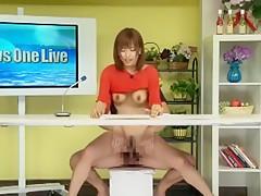 Exotic Japanese chick Kyoko Misumi, Azusa Kato in Fabulous Close-up, Facial JAV clip