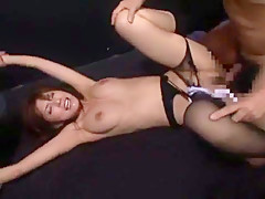 Best Japanese chick Riko Tachibana in Incredible Fetish JAV video