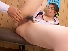 Crazy Japanese slut Hikari Hino, Nao Mizuki in Fabulous Cunnilingus, Office JAV video