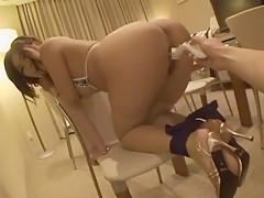 Incredible Japanese model Satsuki Aoyama in Exotic Masturbation, Dildos/Toys JAV clip