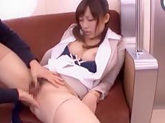 Best Japanese whore Tomoka Minami in Hottest Fingering, Public JAV video