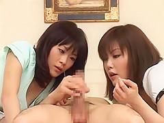 Best Japanese chick in Amazing Handjobs, Femdom JAV scene