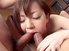 Amazing Japanese chick Mika Hukunaga in Hottest JAV uncensored Group Sex clip