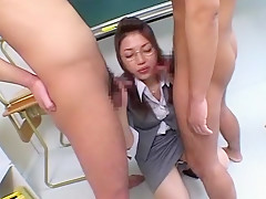 Exotic Japanese model Yuuna Takizawa in Amazing Masturbation, Cunnilingus JAV movie