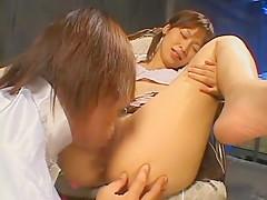 Horny Japanese slut Sara Minami in Best Small Tits, Fingering JAV video