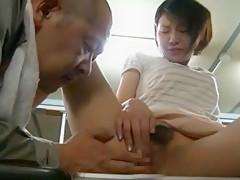 Horny Japanese girl Ren Suzuki in Best Fingering, Gangbang JAV movie