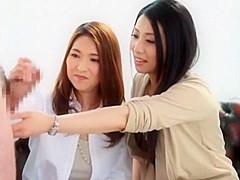 Best Japanese girl Tsuyako Yoshino, Waka Takatsuki in Horny Threesome, MILF JAV video