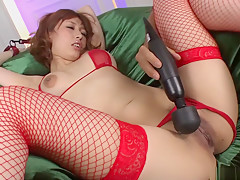 Hottest Japanese chick Tiara Ayase in Fabulous JAV uncensored Stockings scene
