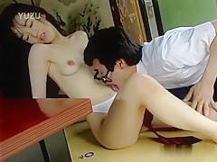 Horny Japanese whore in Best JAV uncensored College Girl scene