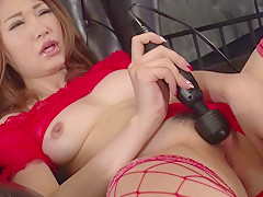 Fabulous Japanese slut Airi Mizusawa in Incredible JAV uncensored Dildos/Toys video