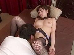 Exotic Japanese slut Rico Yamaguchi in Fabulous Couple, Cunnilingus JAV movie