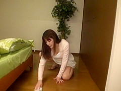 Amazing Japanese whore Rena Misaki in Hottest Solo Female JAV video