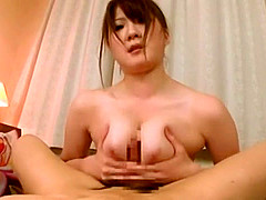 Amazing Japanese whore Momoka Nishina in Incredible Handjob, Cumshot JAV clip