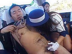 Hottest Japanese model Mao Tachibana, Rina Takakura in Horny Blowjob, Public JAV video