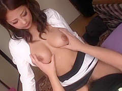 Crazy Japanese whore Satomi Suzuki in Fabulous Doggystyle, Big Tits JAV scene